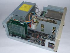 Innerhalb des Commodore PC 30-III Computer.