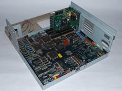 Der Hauptplatine der Commodore PC 30-III Computer.