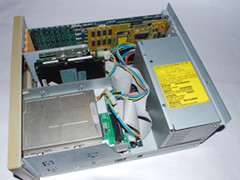 Inside of the Commodore PC 35-III computer.