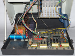 Inside of the Commodore PET 2001 (Blue) computer.