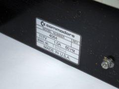 Das Modell und Seriennummer des Commodore Educator 64.