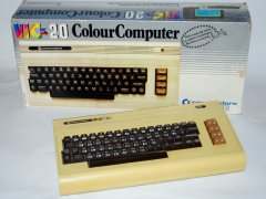 Commodore VIC 20 with original packaging.