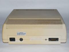 Hintere Ansicht vom Commodore 8250 LP Laufwerke.