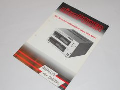 Reclame folder van de Micro Power 2000 disk drive.