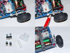 Modification of the odometer sensors.