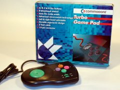 Commodore Turbo Game Pad, KT 49 with original packaging.