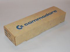 The original packaging of the Commodore 8010  modem.