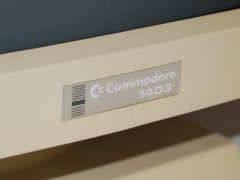 Das Logo der Commodore 1403 Monitor.