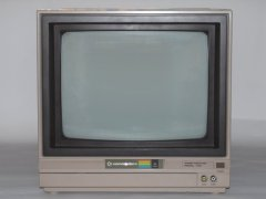 Front-view of the Commodore 1701 monitor.