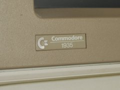 Das Logo der Commodore 1935 Monitor.