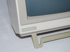 The logo on the Commodore 76BM13 monitor.