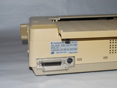 Rear view of the Commodore MPS 1224c printer.