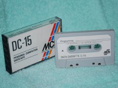 Cassette with box.