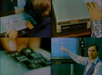 An Commodore C128 computer and a 1541 disk drive in a CBC news item.