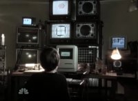 A Commodore Amiga 1000 in the TV-series Chuck.