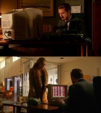 A Commodore C64 computer and a 1802 monitor in the TV series DC Legends Of Tomorrow.