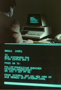 A Commodore PET 2001 in the TV-series Derrick.