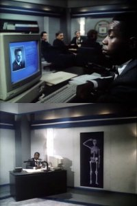 A Commodore Amiga 1000 in the movie comedy Get Smart, Again!