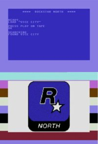 Introduction screen of: Grand Theft Auto - VIce City