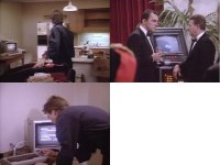 Commodore C64 and 1541 in the TV-series MacGyver.