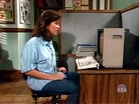 An Commodore 1702 monitor in the TV-series The Facts of Life.