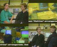 A Commodore Amiga 500 computer and 1084 monitor in the TV-show Zig Zag.